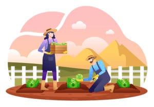 Harvesting Crops graphic