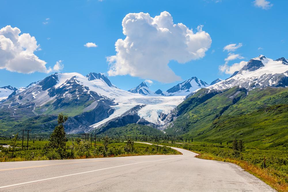 scenic road trips, alaska, mountains, hiking, road trip ideas, travel, leisure