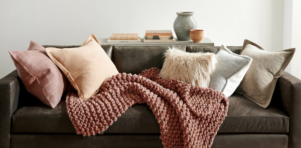 Easy Swaps To Decorate For Fall, fall pillows, fall decor, throw pillows for fall